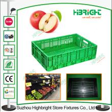 Caixas de caixas de plástico vegetal dobrável