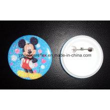 Pin Reflector de Seguridad / Insignia Reflectante