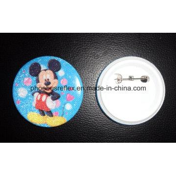Safety Pin Reflector /Reflective Badge
