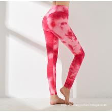 Tummy Control Mid Elastic Waisted Leggings Sport Pants