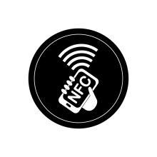 Печать меток NTAG 215 RFID NFC 13,56 МГц