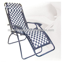 Hickory field recliner Sunbed Outdoor With Cushion& Cheap Foldable Beach Lounge Chairs,highchair portable