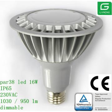 bongs sales TUV CE UL 16W par38 led bulbs