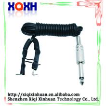Caucho de silicona Tatuaje cuerda de clip de alimentación, permanente componen el dispositivo Tatuaje Clip Cord