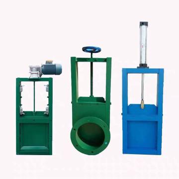 Carbon steel gate valve for ash handling