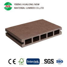 WPC Hollow Decking Wood Plastic Composite Outdoor Flooring
