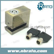 Kleine Kupfer Rechteck Autobrad Disc Lock