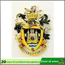 Royal 3D Emblema de aluminio para Buildiing