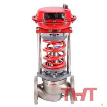 Válvula de alivio de vacío de presión de regulación de válvula autooperada