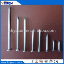 """Fábrica Premium de 3 """"de acero de cabeza redonda galvanizada clavos en el hormigón"""