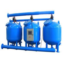 Machine de filtre multi de sable paratactique pour l'irrigation d'agriculture