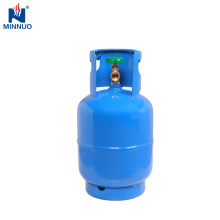 Tanque de gás Dominica, 5 kg pequena garrafa de propano garrafa de aço de promoção