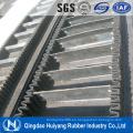 De Buena Calidad Banda transportadora acanalada del ángulo grande con SGS y forma