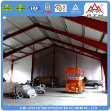 Various styles H type column prefab steel building warehouse