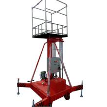 Plataforma elevadora cilíndrica telescópica hidráulica de 6 m