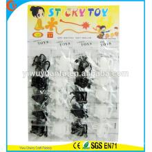 Novedad Diseño Interesing Entretenimiento Suave Blanco y Negro Serie Varios Sticky Toy