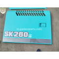 Kobelco Excavator SK260-8 Metal Covers Compartment Doors