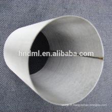 Maille de filtre en feutre non-tissé en acier inoxydable fritté de 7 microns