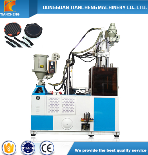 Single Slide Board Vertical Injection Machine