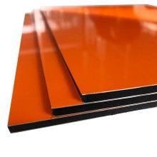 Firm Aluminum Composite Panel with Glossy Surface