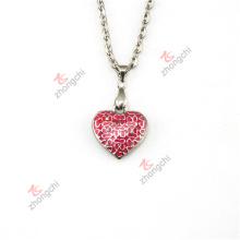 Moda amor coração lockets encantos pingentes colar jóias presentes (hpn50824)
