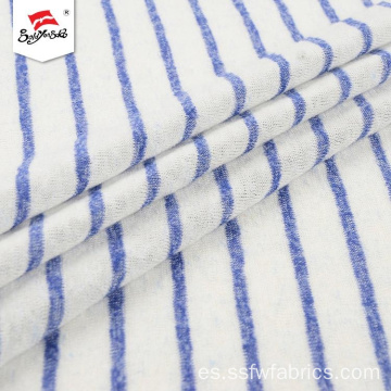 Clean Colors Antistatic Popular Stripe Hacci Tejido de punto