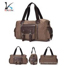 2017 новый дальних холст большой емкости мужчины или женщины плеча наклонной мешок багажа дорожная сумка