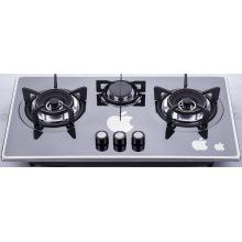 Três fogão a gás do queimador (SZ-LW-103)