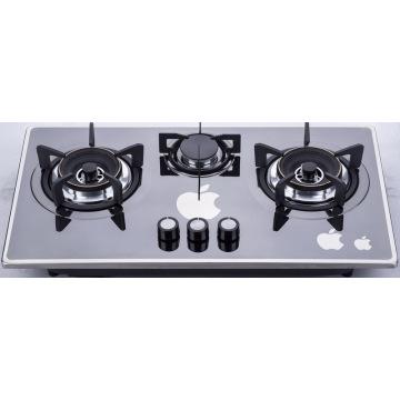 Table de cuisson à gaz à trois brûleurs (SZ-LW-103)