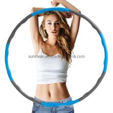 2021 Hot Amazon Smart Plastic Weighted Hoola Hoops Fitness Hula Hoop