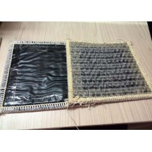 Sodium clay liner with geomembrane for landfill