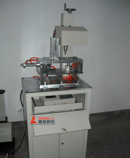 Steel Point Round Head dot Jet Marking Machine