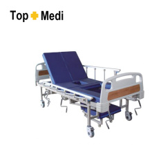 Topmedi Hospital Furniture Cama de hospital de acero de cinco funciones