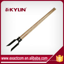 Tree Planting Manual Post Hole Auger With Wood Handle