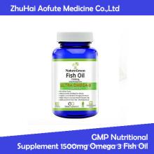 GMP Suplemento Nutricional 1500mg Omega 3 Aceite de Pescado