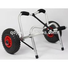 kayak cart with U-shape kickstand and soft foam bumpers YJX02004