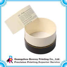 High quality beauty custom printed round gift boxes wholesale
