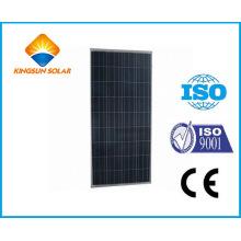 Módulo de energía solar de silicio policristalino 135W-155W