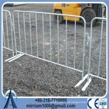 La fábrica caliente de la venta sumergió las barreras galvanizadas calientes del control de la muchedumbre de los peatones del metal (fabricación desde 1989)