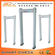 6 Zone Cylindrical Metal Detector Gate Security Metal Detector Gate