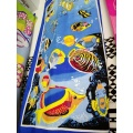 Sea Blue Fish Dolphin Reactiveprint Beach Towels