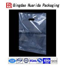 Diecut PE Plastic Shopping Carrier Bag