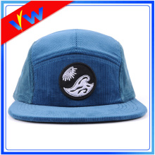 Corduroy Applique 5 Panel Hat