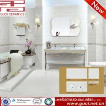 великолепным украшением фарфоровой настенной и напольной плитки для ванной комнаты дизайн