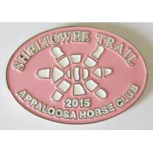 Custom Made Metal Club Pin Badge in Soft Enamel (badge-197)