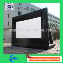 2015 pantalla inflable, pantalla de cine inflable, pantalla de aire inflable