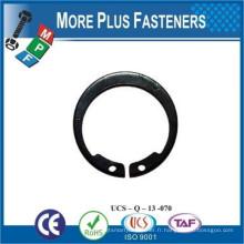 Fabriqué à Taiwan Rings Circlip externe Interlaire interne Invertétéral Circlip interne Anneau Clip Retenue E Clip
