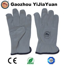 Goat Grain Leather Industrial Driving Gloves for Drivers