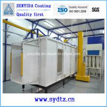 Pulverbeschichtungslinie Ausrüstung Maschinenlackierraum