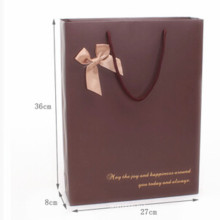 Изысканная подарочная сумка-Pure Color Bag-Meduim